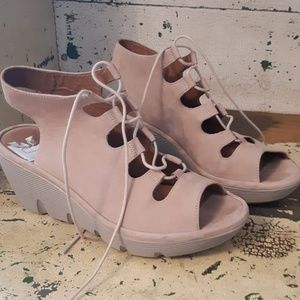 Clarks Leather Sandals 8.5